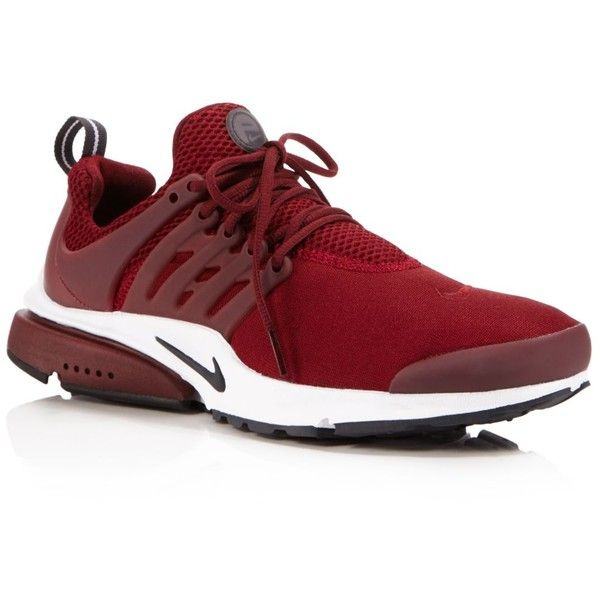 Nike Men's Air Presto Essential Lace Up Sneakers ($120) ❤ liked on Polyvore  featuring