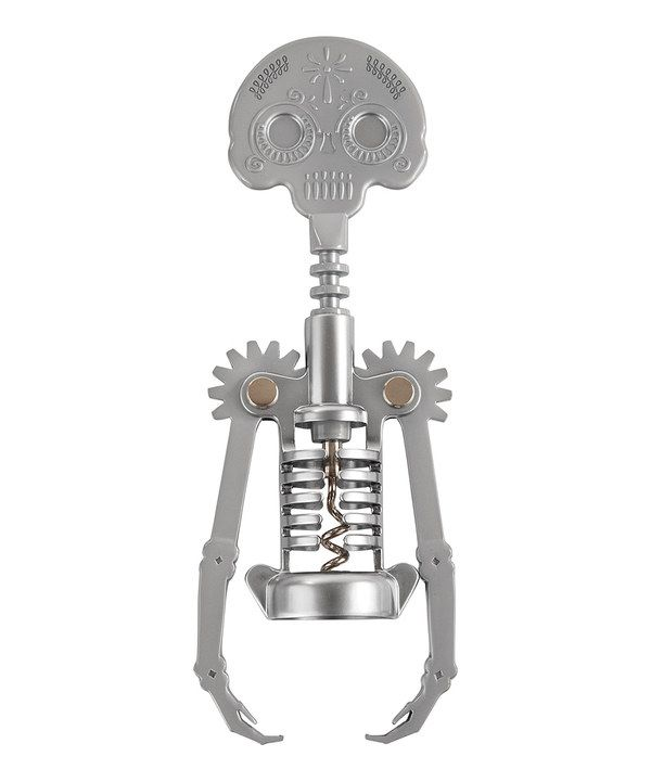 Look At This True Fabrications Day Of The Dead Corkscrew On Zulily Today Corkscrew Bottle Stoppers Wine Bottle Opener