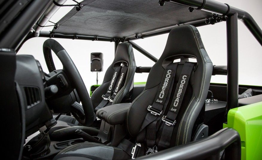 Jeep Trailcat Concept Pictures Custom Jeep Wrangler Car And