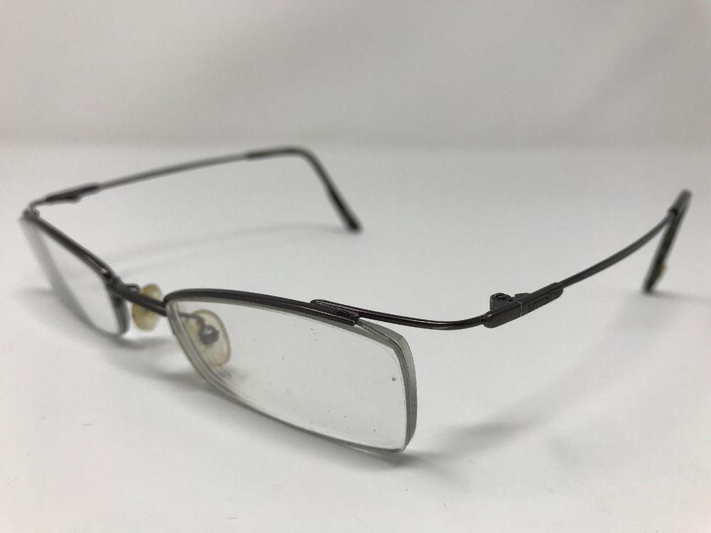Francesco Smalto Eyeglass Frames France Tendances Gris 48