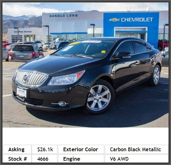 2011 Buick Lacrosse Cxl Sedan Locking Limited Slip Differential Temporary Spare Tire Heated Mirr 2011 Buick Lacrosse Buick Lacrosse Limited Slip Differential