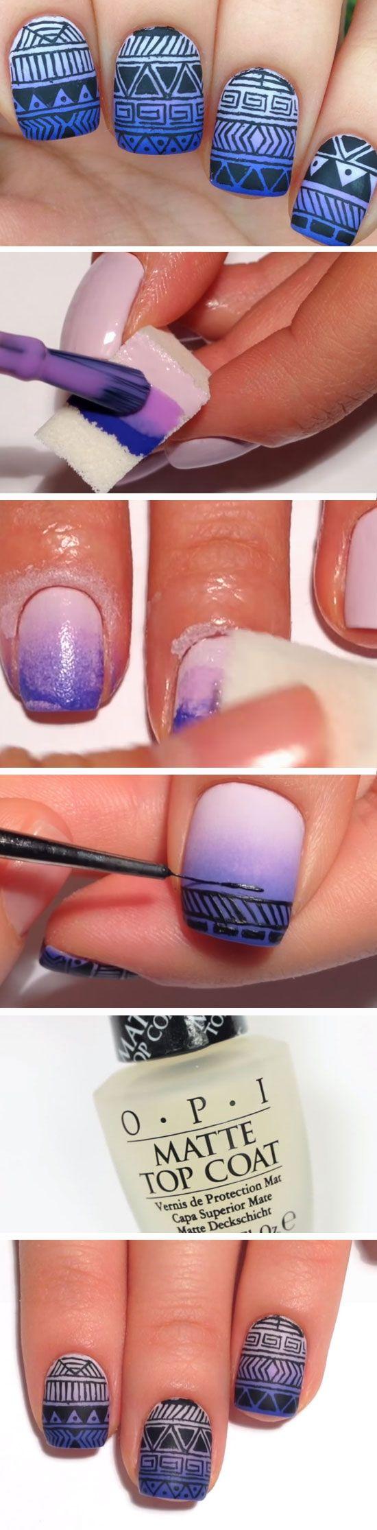 easy diy matte nails design ideas for amazing diys