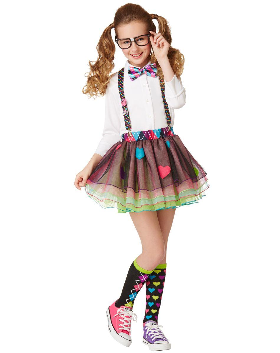 Halloween Costumes For Girls.Girls Nerd Kit Spirit Halloween Halloween Nerd