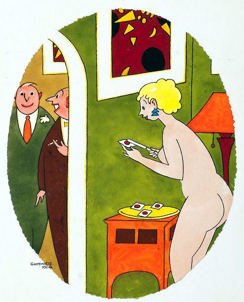 Gardner Rea. Playboy. Early 1960's