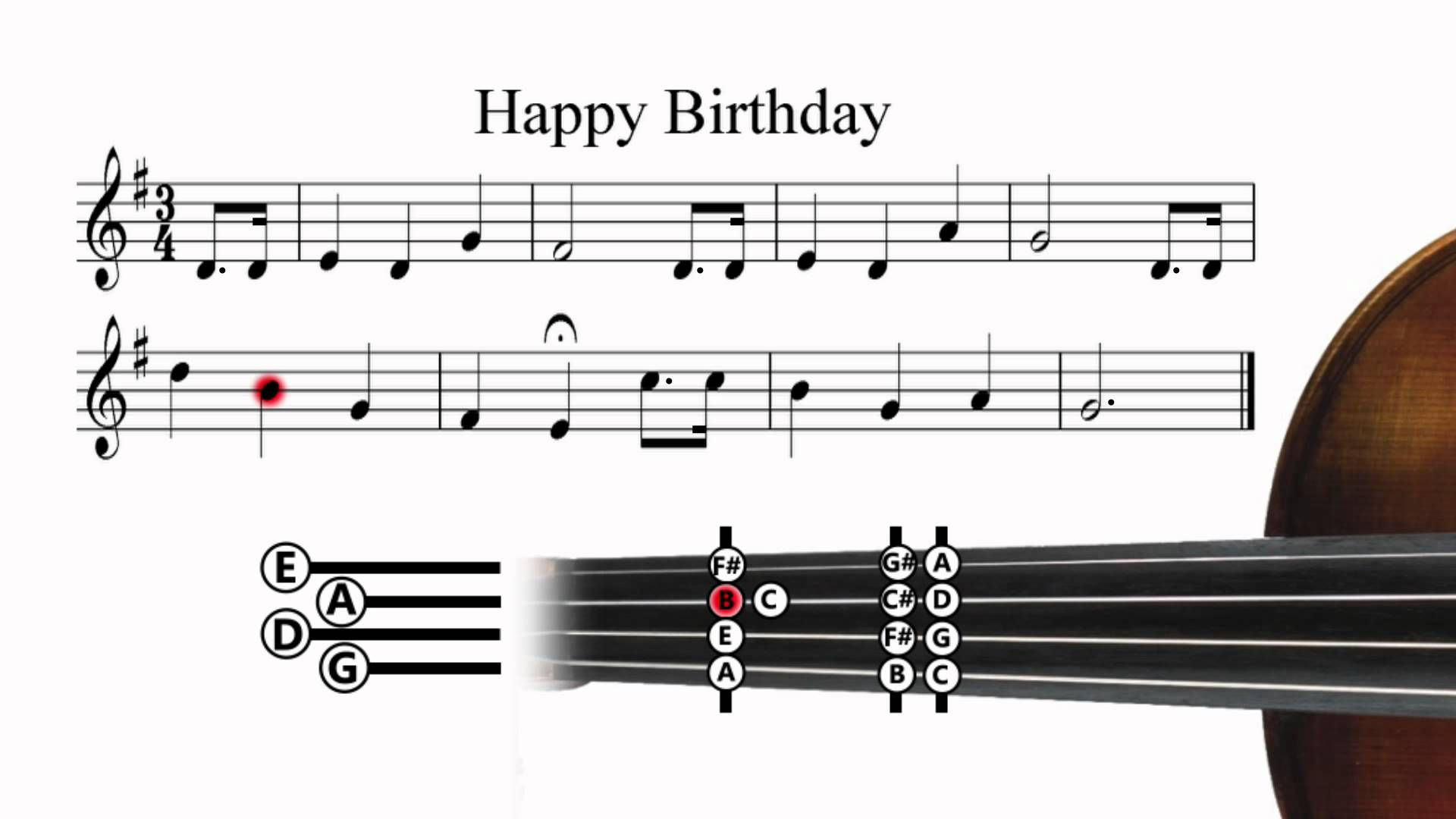 Happy Birthday! maxresdefault.jpg Violin tutorial