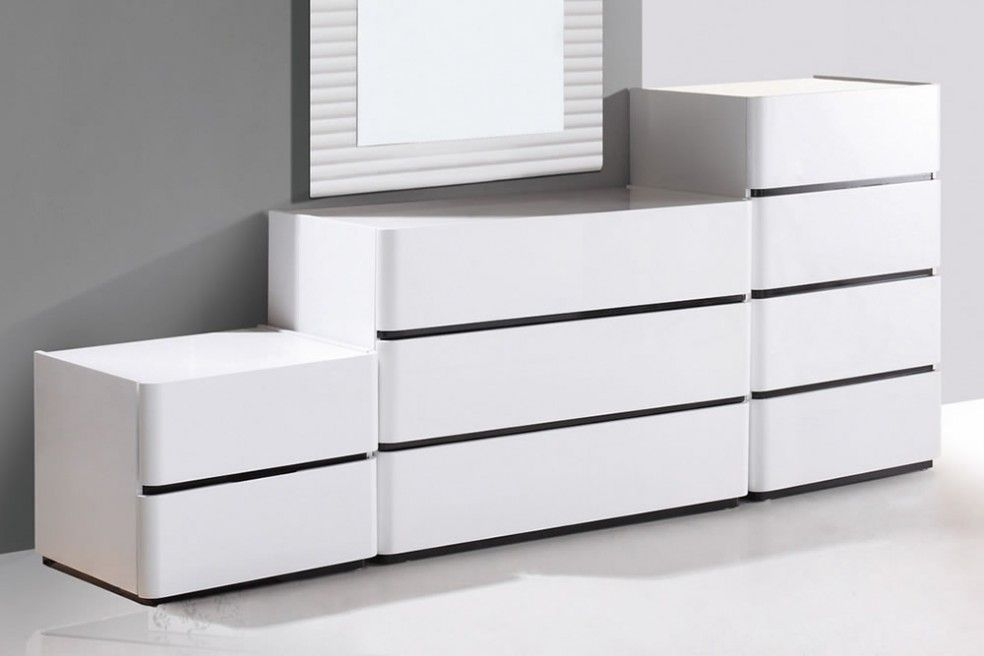 strassen 2 drawer high gloss side cabinet high gloss chests