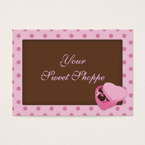 Chocolate candy business cards business cards pinterest chocolate candy business cards colourmoves