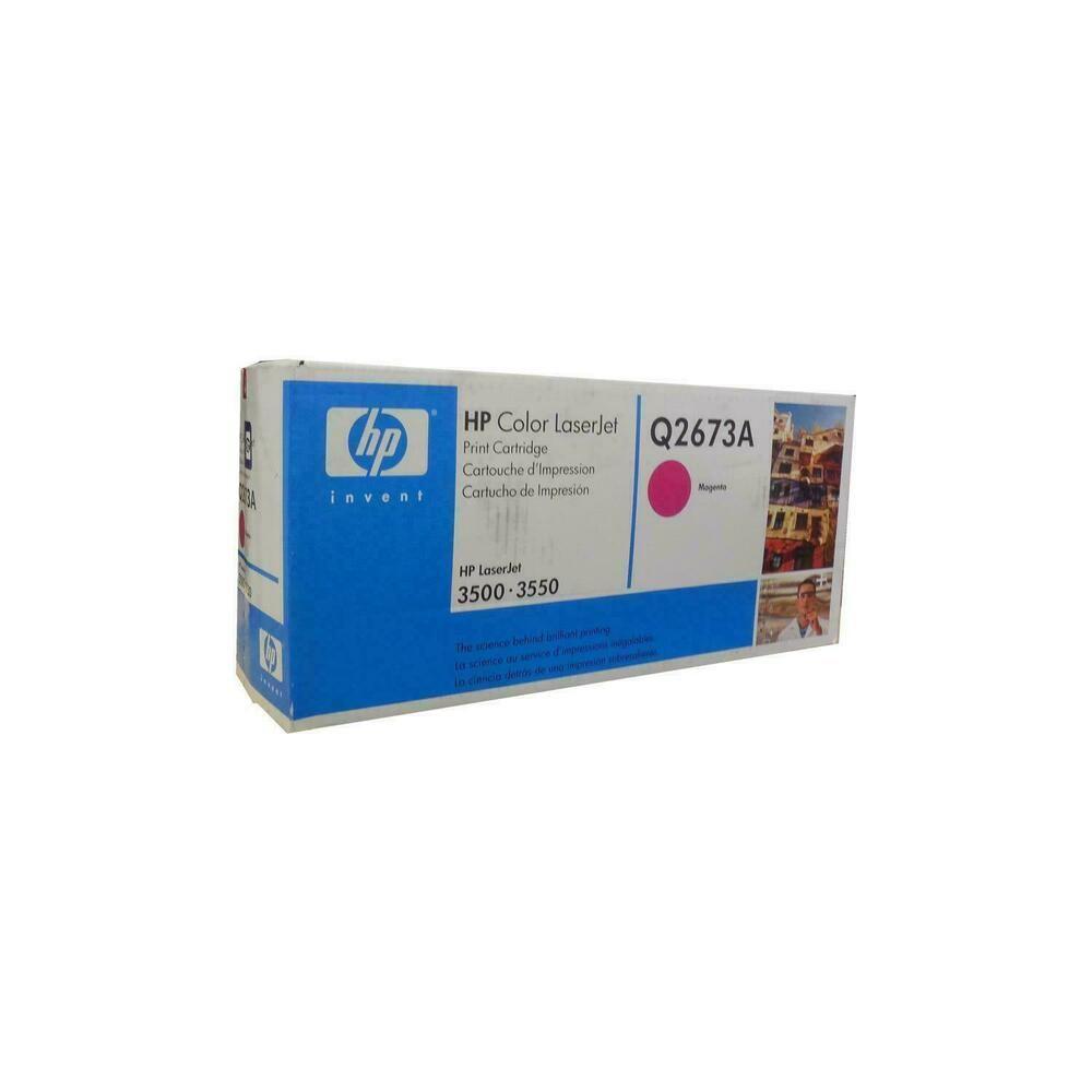 Hp Q2673a 309a Magenta Toner Cartridge Genuine Oem Original Hp