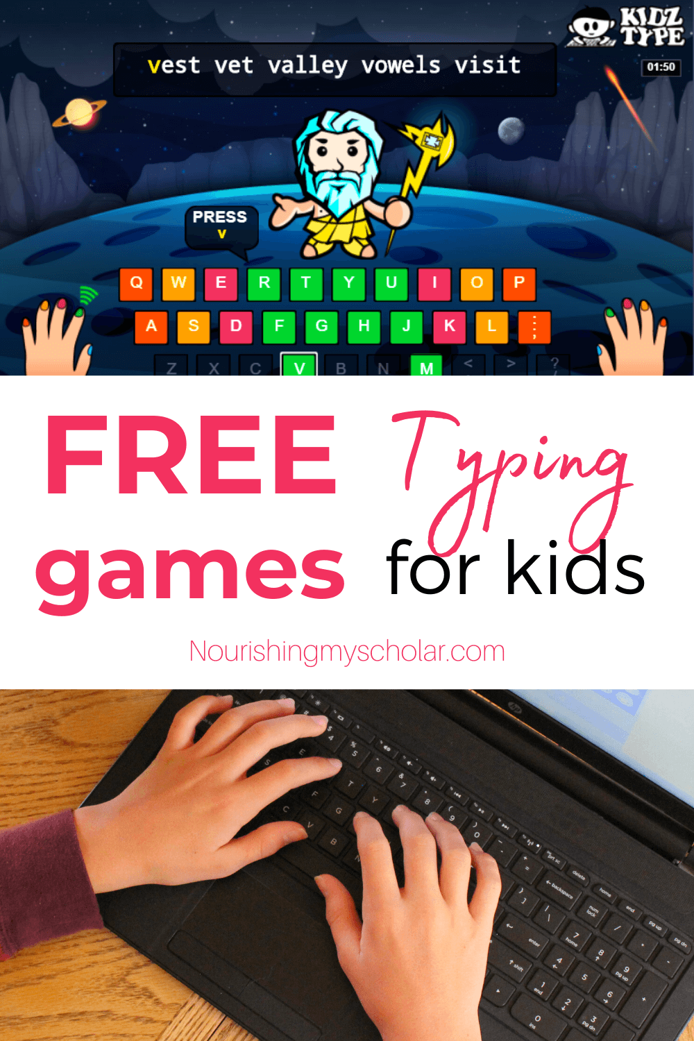 Free Typing Games for Kids Nourishing My Scholar in 2020