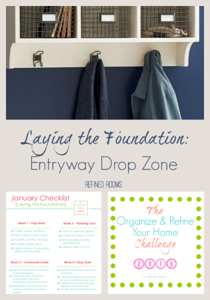 The Household Drop Zone One Of The Foundations Of An Organized Home