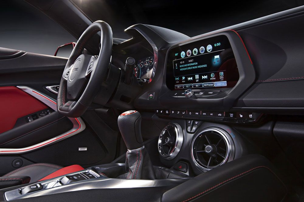 New Review 2016 Chevrolet Camaro Specs Interior View Model