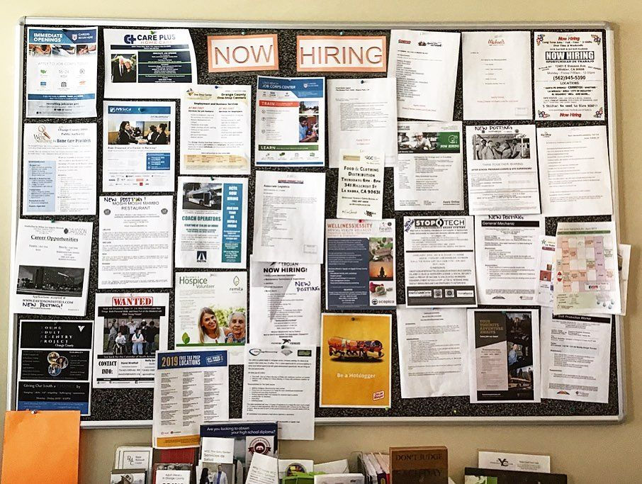 Get a job! Get a career! Get paid! . At The Orange County