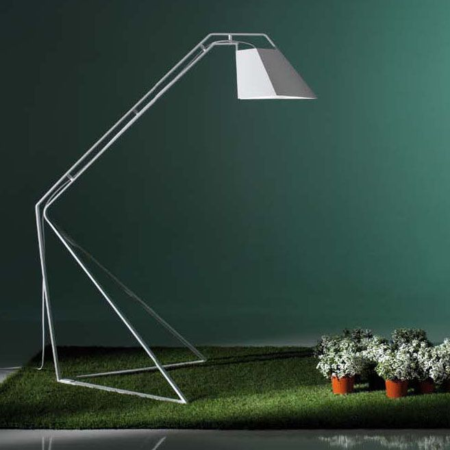 Crane, floor lamp by Stefano Pirovano for BYSTEEL