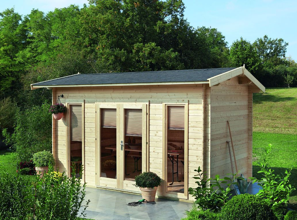 Gartenhaus Helgoland 40 A Iso Bei Gartenhaus2000