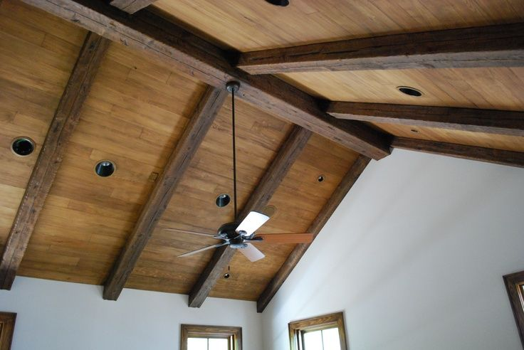 Wood Plank Ceiling Google Search Wood Plank Ceiling Wooden Ceilings Wood Beam Ceiling