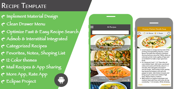 Multi purpose recipe template for android multi purpose recipe template for android by expresstemplate multi purpose recipe template is an application under forumfinder Image collections
