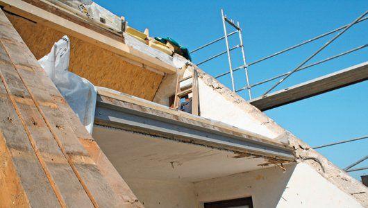 Dachstuhl aufgedoppelt | renovieren.de