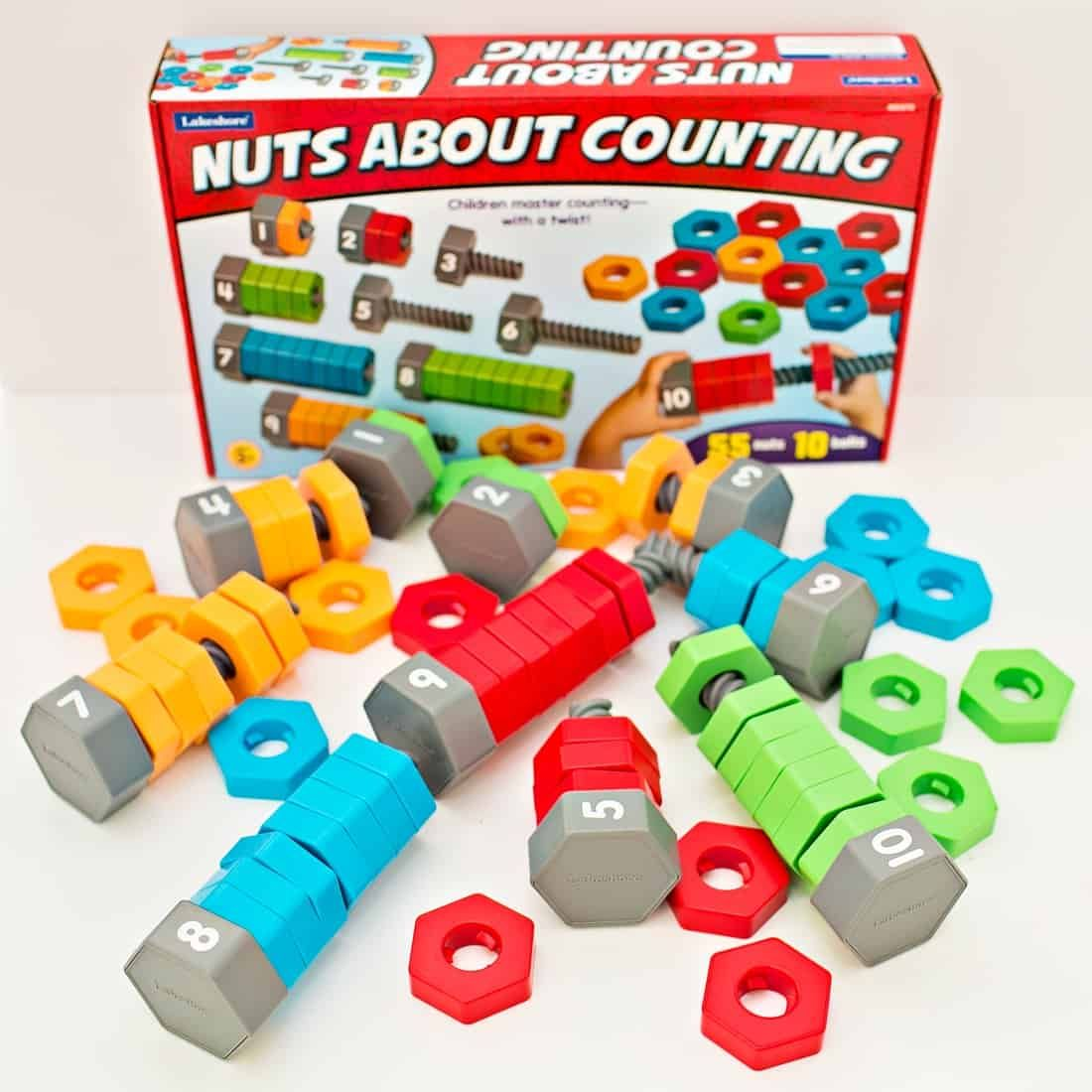 Nuts About Counting And Sorting Learning Toy