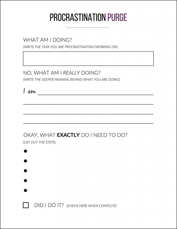 printable how to back on track personal development personal development worksheet