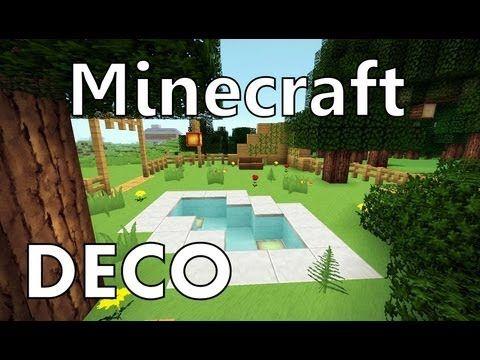 Minecraft : Comment Créer un Beau Jardin - YouTube | minecraft ...