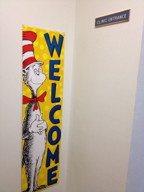 Dr. Suess welcome poster