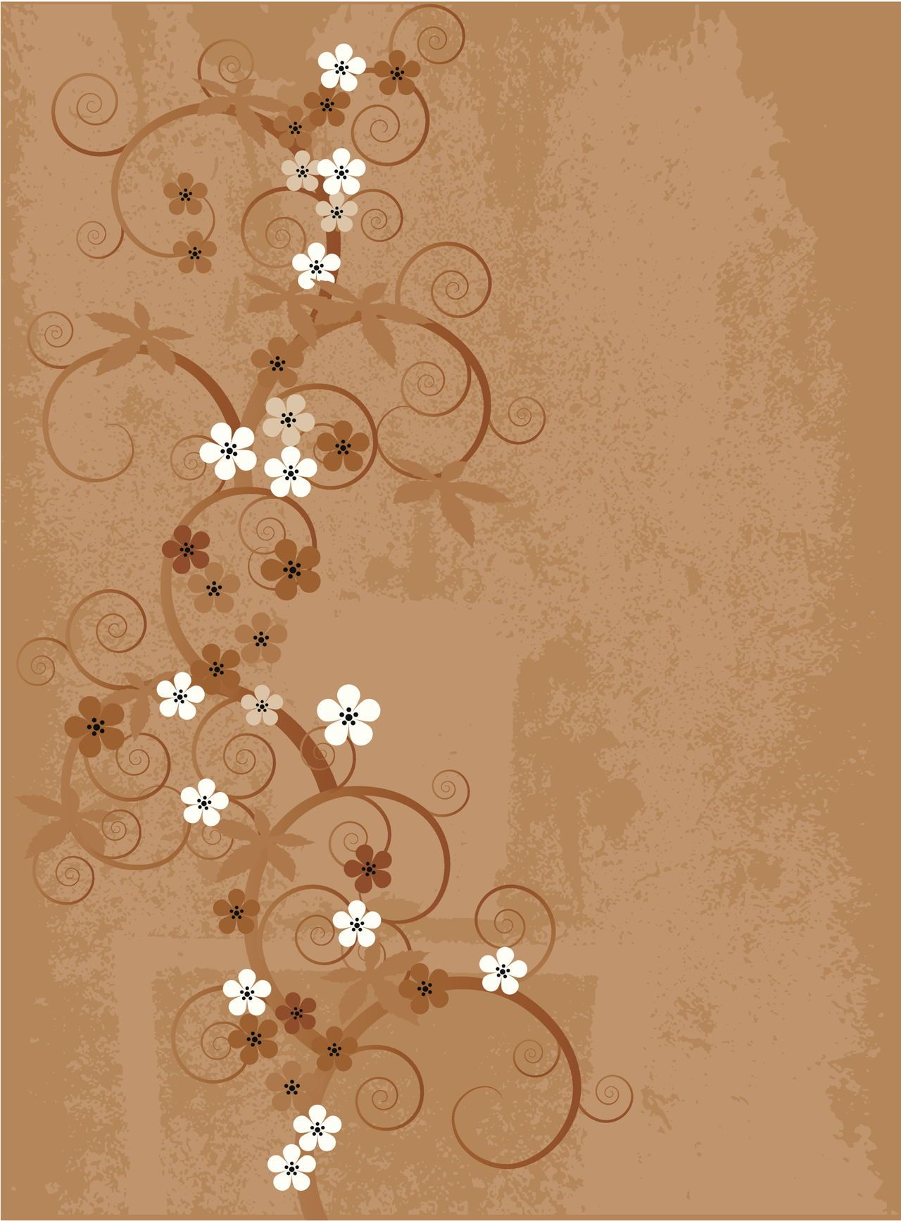 Fabulously stunning flower wall stencil ideas for painting