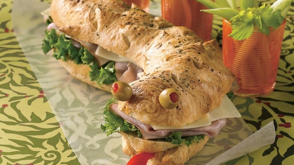"""""""Scaly"""" sub starts out as a refrigerated crusty loaf…minutes later, it's ready to be devoured!"""