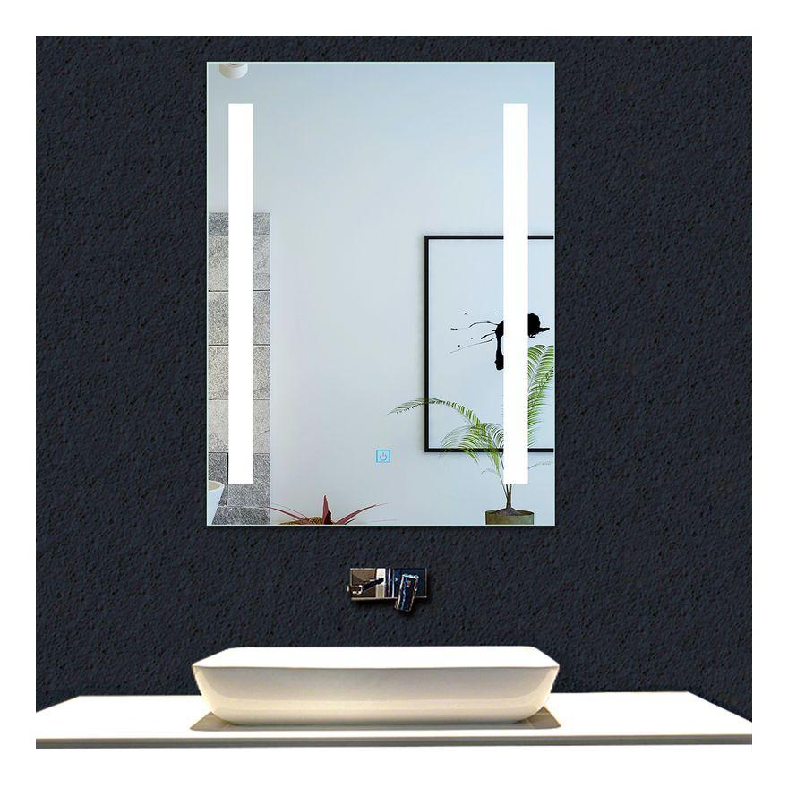 Miroir Simple De Salle De Bain Bathroom Lighting Mirror Home Decor