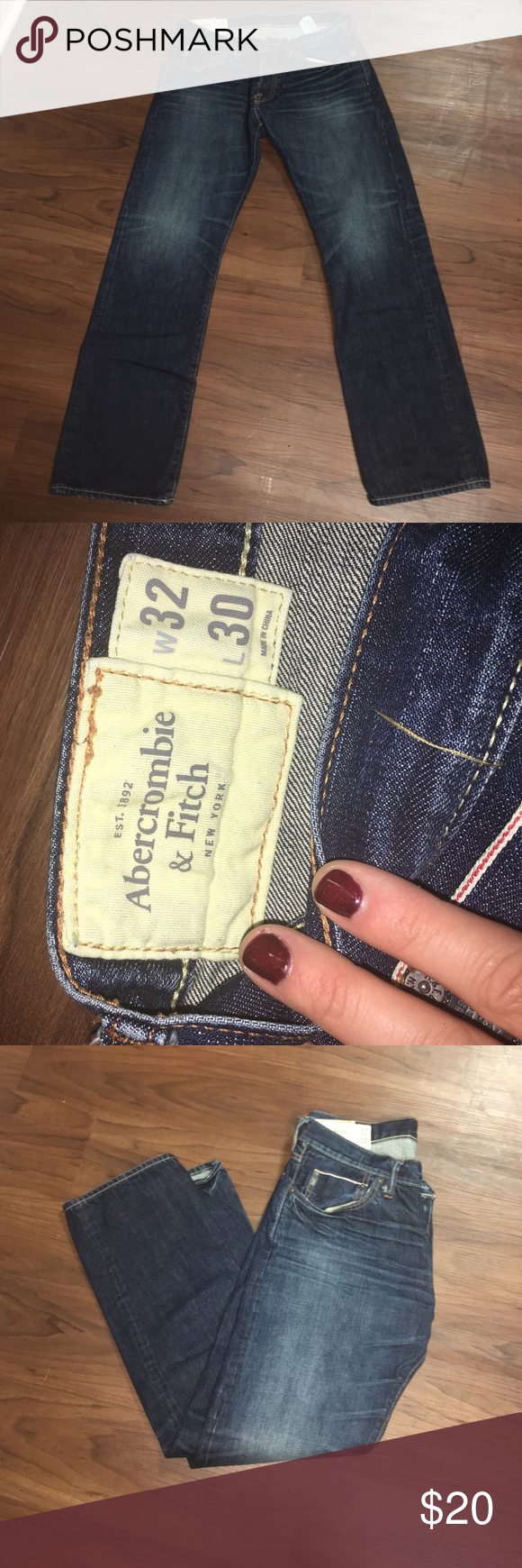 Abercrombie jeans ! Men's Abercrombie jeans. 33x 30Feel free to make an offer ! Abercrombie & Fitch Jeans