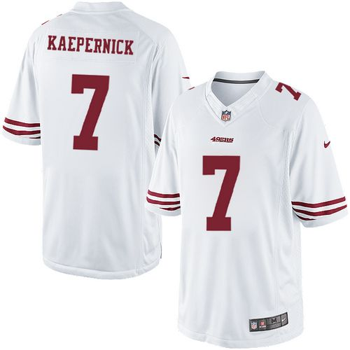 d1acbbf68 Nike 49ers  7 Colin Kaepernick White Mens NFL Game Jersey And  nfl jersey  online shop legit