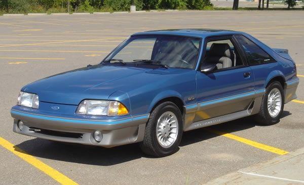 1989 5 0 Gt Mustang 25 Years Mustang Gt Ford Mustang Gt Ford Mustang