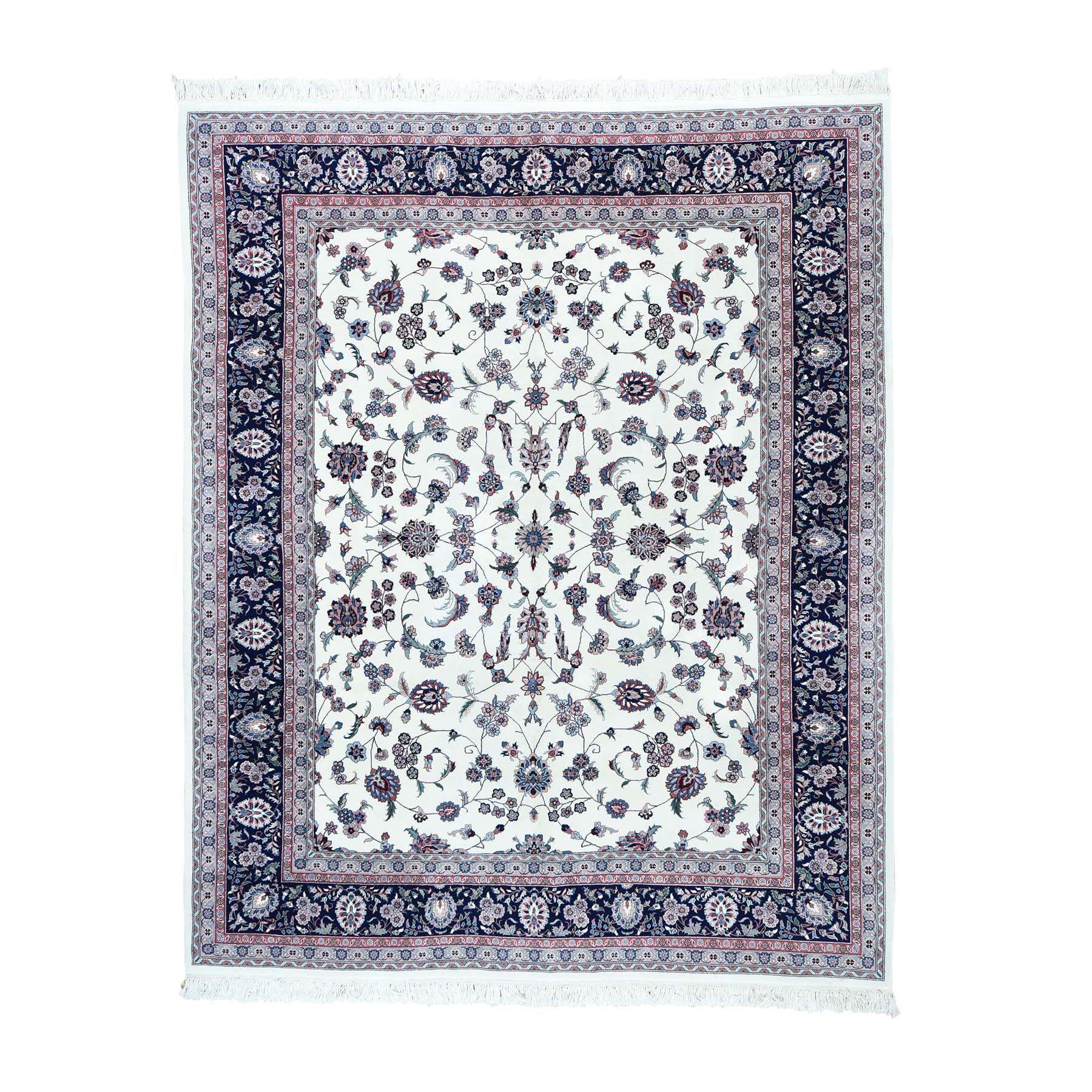 1800getarug Sino Kashan Wool/ Hand-knotted Rug