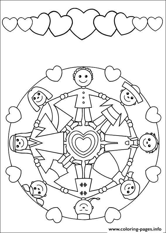 Print Easy Simple Mandala 56 Coloring Pages Mandalas For Kids