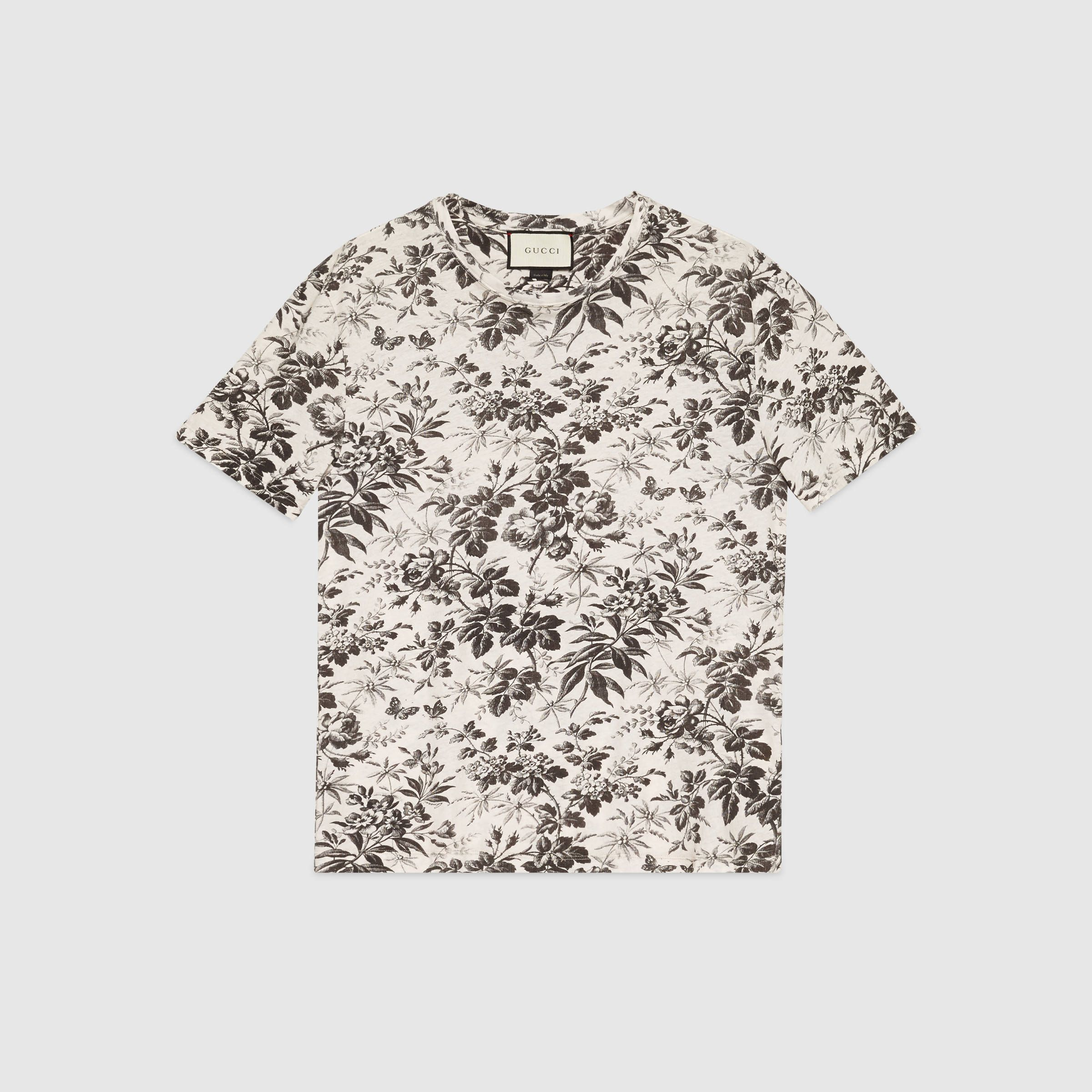 16245cc85 Herbarium print cotton t-shirt | Stay Fresh | Mens cotton t shirts ...