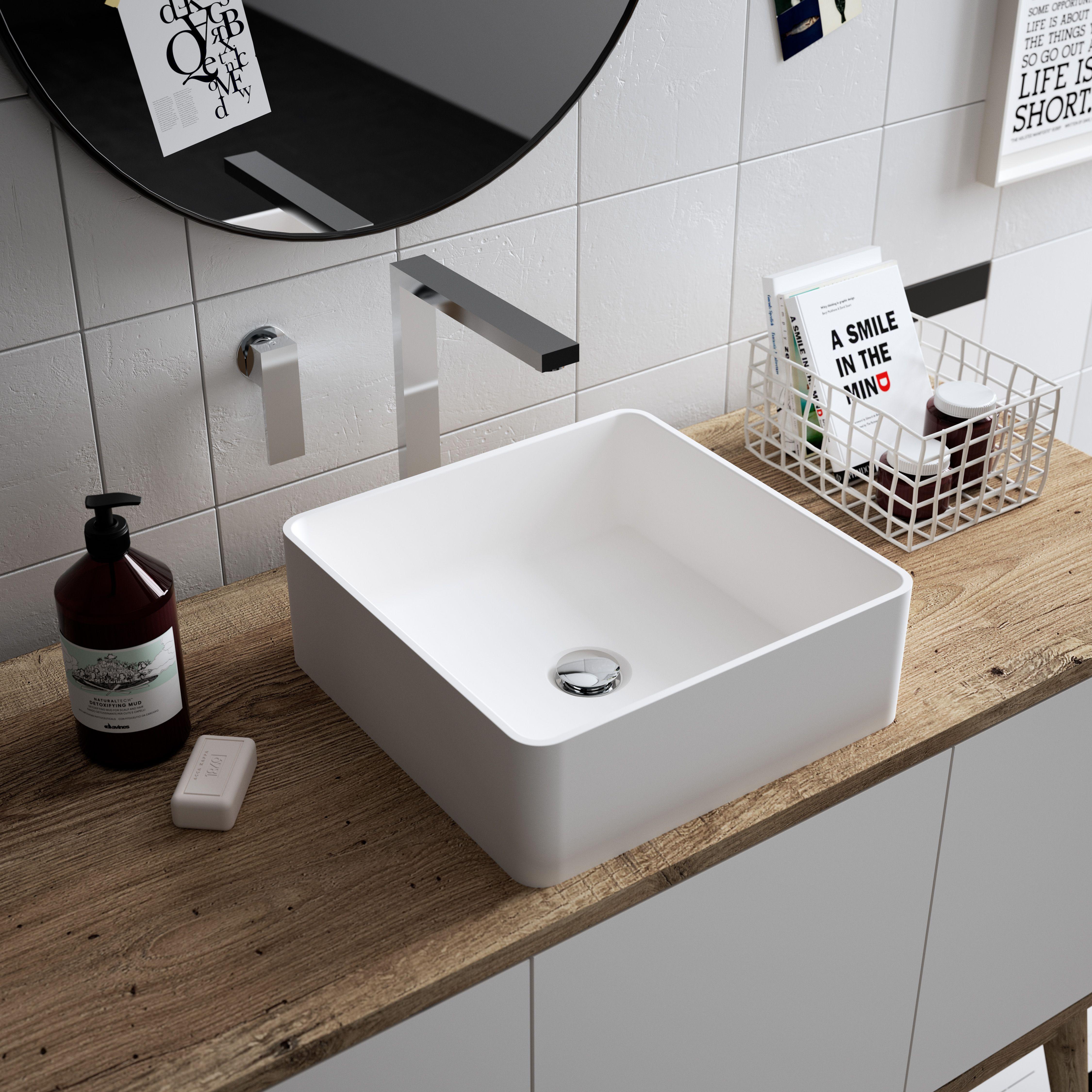HI-MACS® étend son offre salle de bains en ajoutant trois nouvelles vasques à sa…