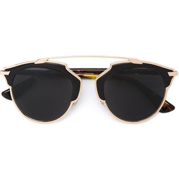 So Real aviator sunglasses - Brown Dior