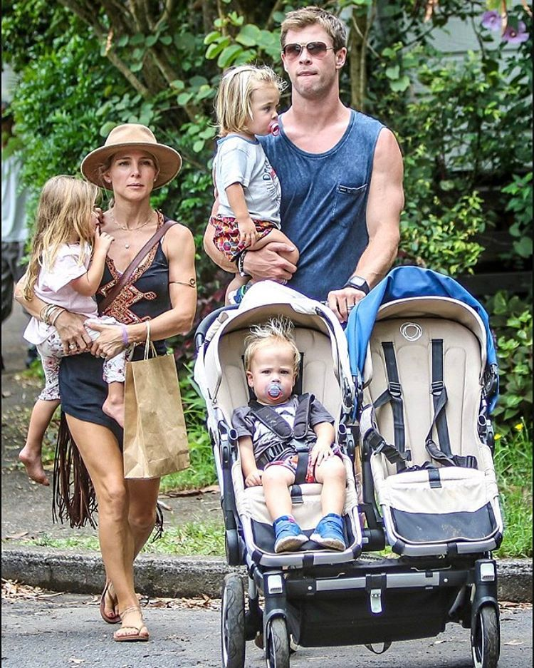 See This Instagram Photo By Chrisxxhemsworth 417 Likes Chris Hemsworth Kids Chris Hemsworth Hemsworth