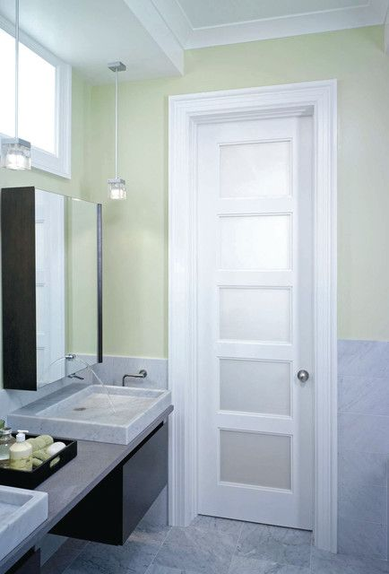 Interior Door With Frosted Glass Bathroom Google Search Glass