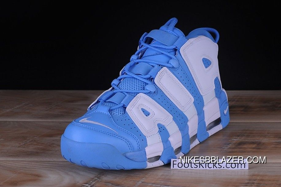 new style 03c15 4e4bd Mens Nike Air More Uptempo University Blue 921948-401 Free Shipping