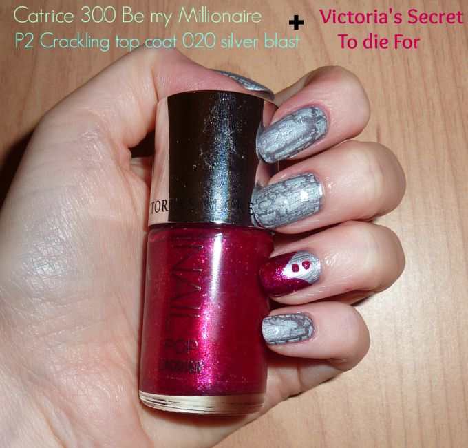 Victoria\'s Secret nail pop lacquer in To die For + Catrice 300 Be my ...