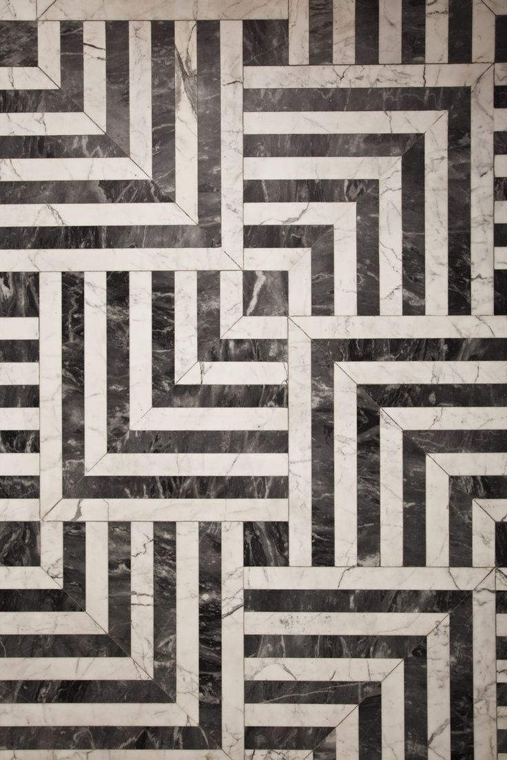 Black And White Tiles Classic Black And White Tiles What A Fun Pattern It Makes