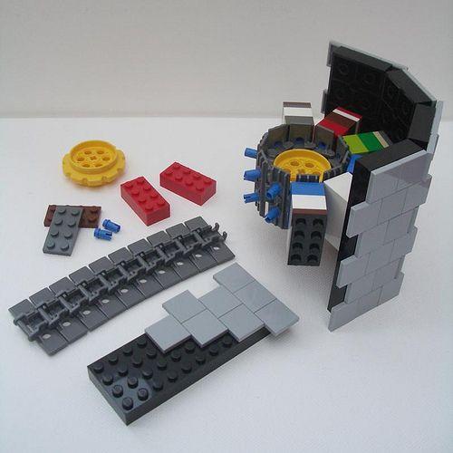 Round Tower Technique Lego Idees Lego Et Construction Lego