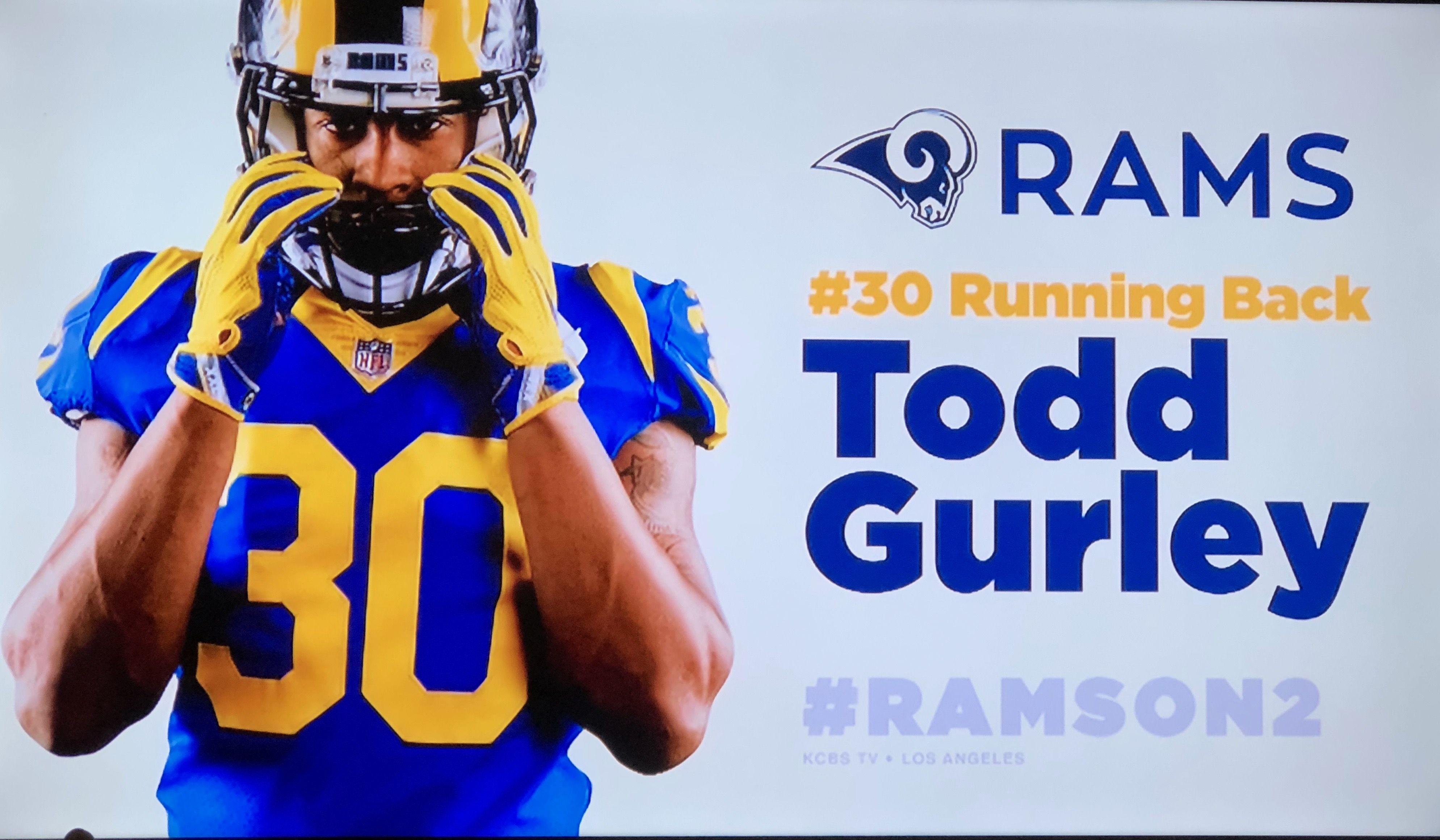 Todd Gurley Los Angeles Rams Todd Gurley La Rams