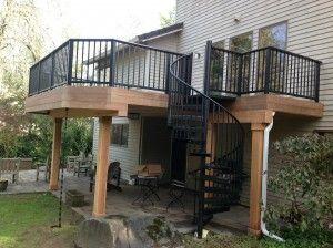 Creative Fences Decks Deck Furniture Layout Deck Remodel Deck Design