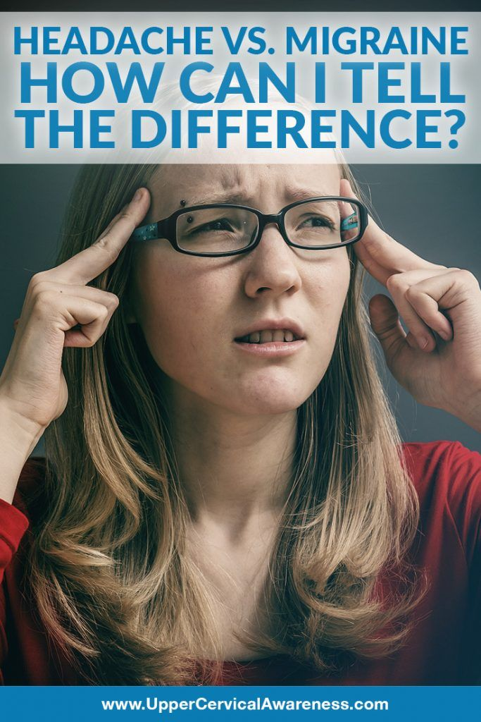 Differences Between Headache & Migraine Migraine