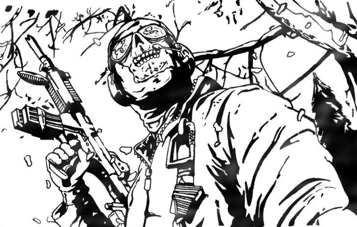 Call Of Duty Black Ops Coloring Pages Coloring Pages Pinterest - Call-of-duty-black-ops-coloring-pages