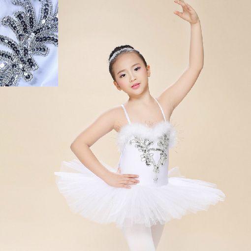 60a60b946f9d White Swan Lake Pancake Classical Professional Ballet Tutu Dancewear ...