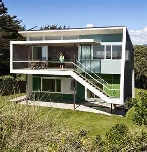 Funky House Beach House Exterior Retro Beach House Modern