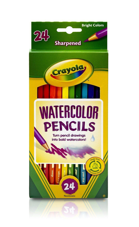 Crayola Watercolor Colored Pencil Classpack Crayola Colored