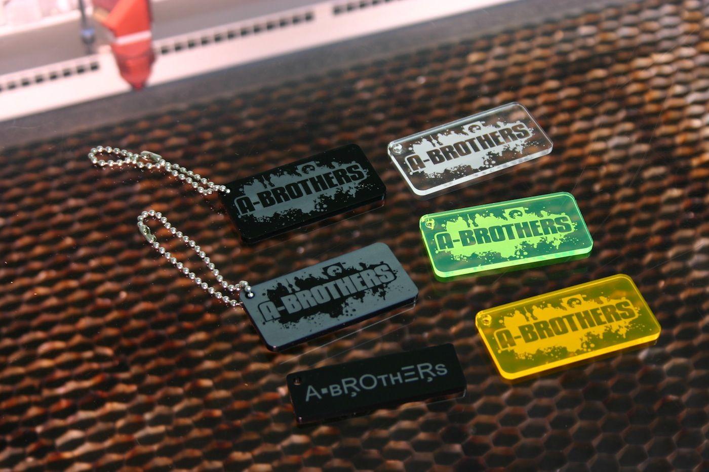Schlüsselanhänger für www.a-brothers.at by www.laser-tattoo.de
